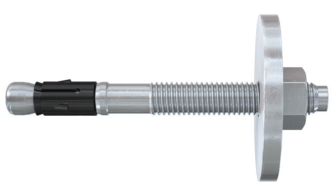 Fischer bolt anchor FAZ II. A powerful anchor for wood constructions in concrete