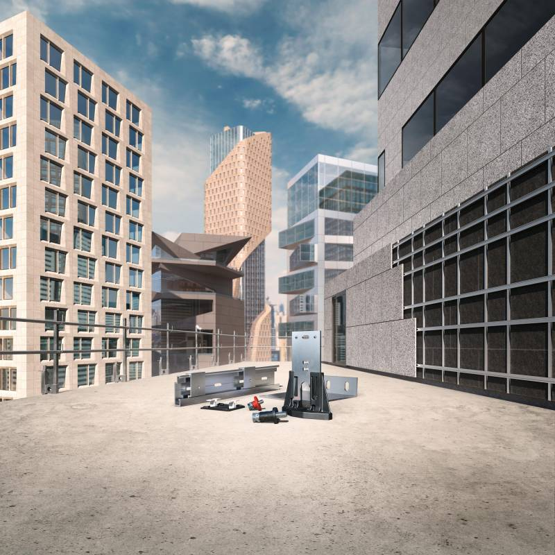 FISCHER: All-in-one systems for multifunctional façades