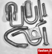 Fasteners for carpentry / buildings / hot dip galvanized (HDG)