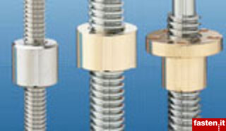 Trapezoidal Threaded Bars and nuts