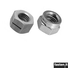 Self locking nuts | Prevailing torque type all-metal hexagon