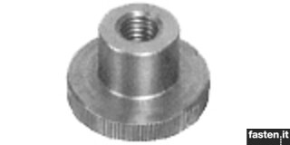 Cylindrical and knob nuts