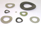 Spring washers, waved